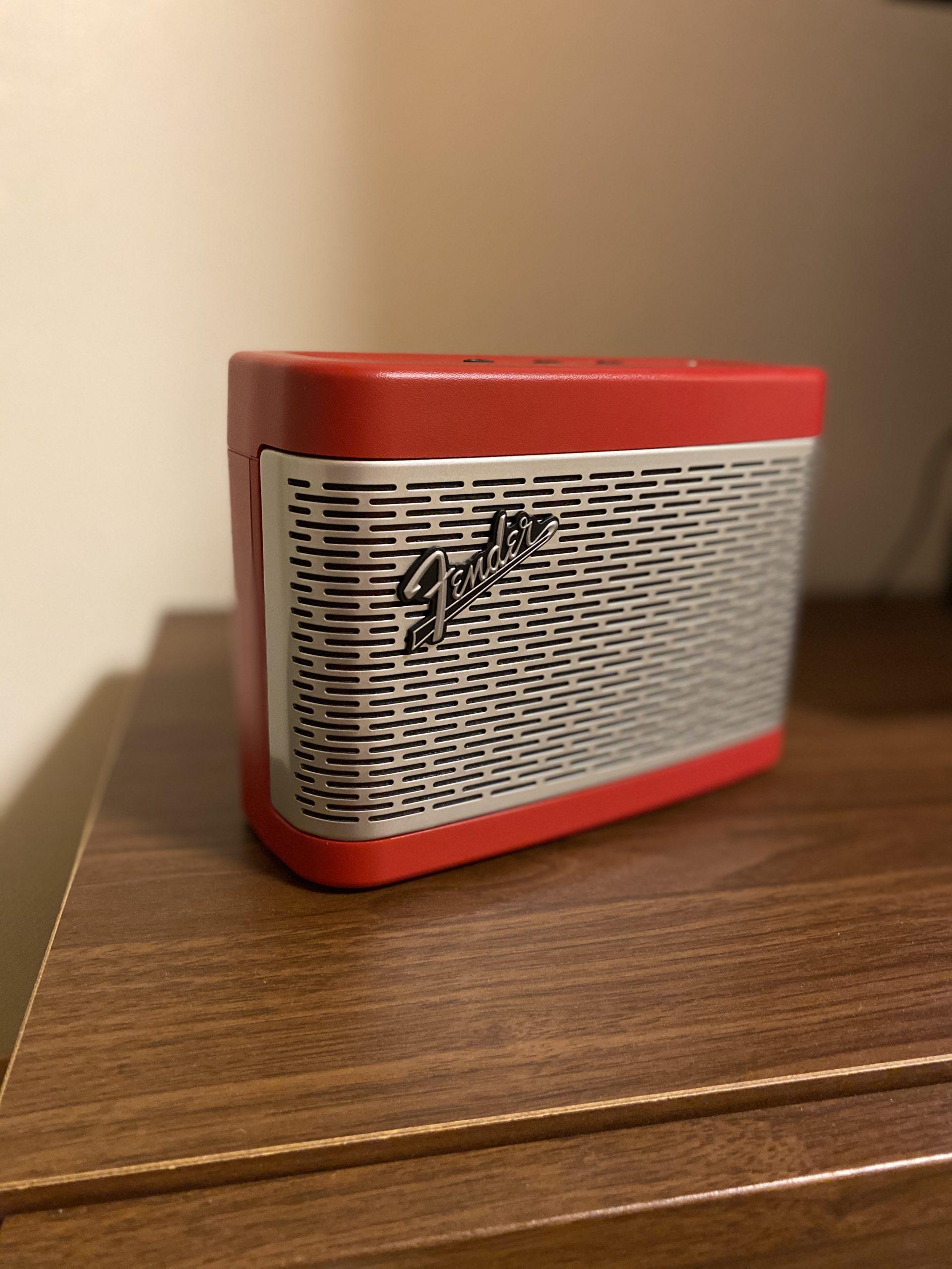 おすすめ Bluetoothスピーカー Fender「NEWPORT」
